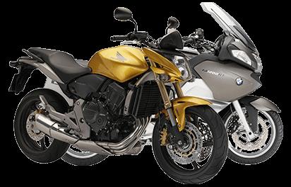 Bemoto Multi Bike Cover - BMW R1200RT and Honda Hornet 600