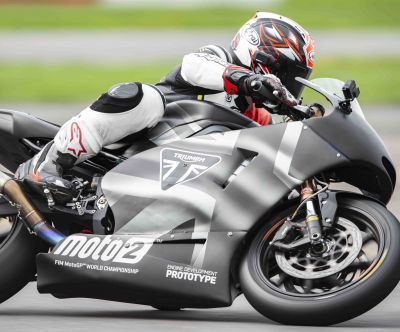 RIDDEN: 2019 Triumph Moto2 Development Bike