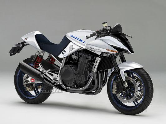 Suzuki Katana Concept Bike - A modern take on the Katana - Love it