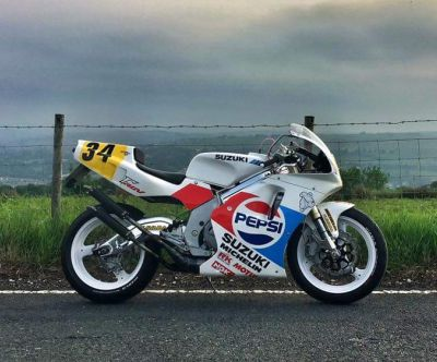 One man's quest to build a road going Suzuki RGV500