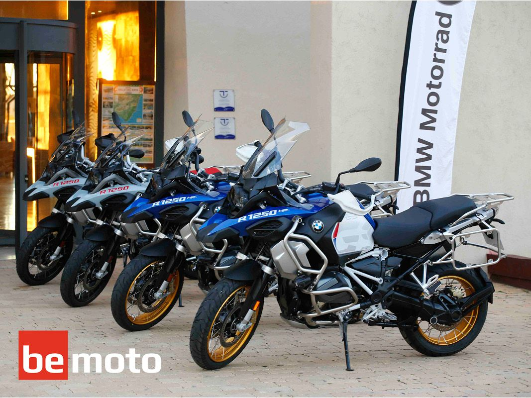 First Ride Of The Bmw R1250 Gs Adventure In Spain Bemoto