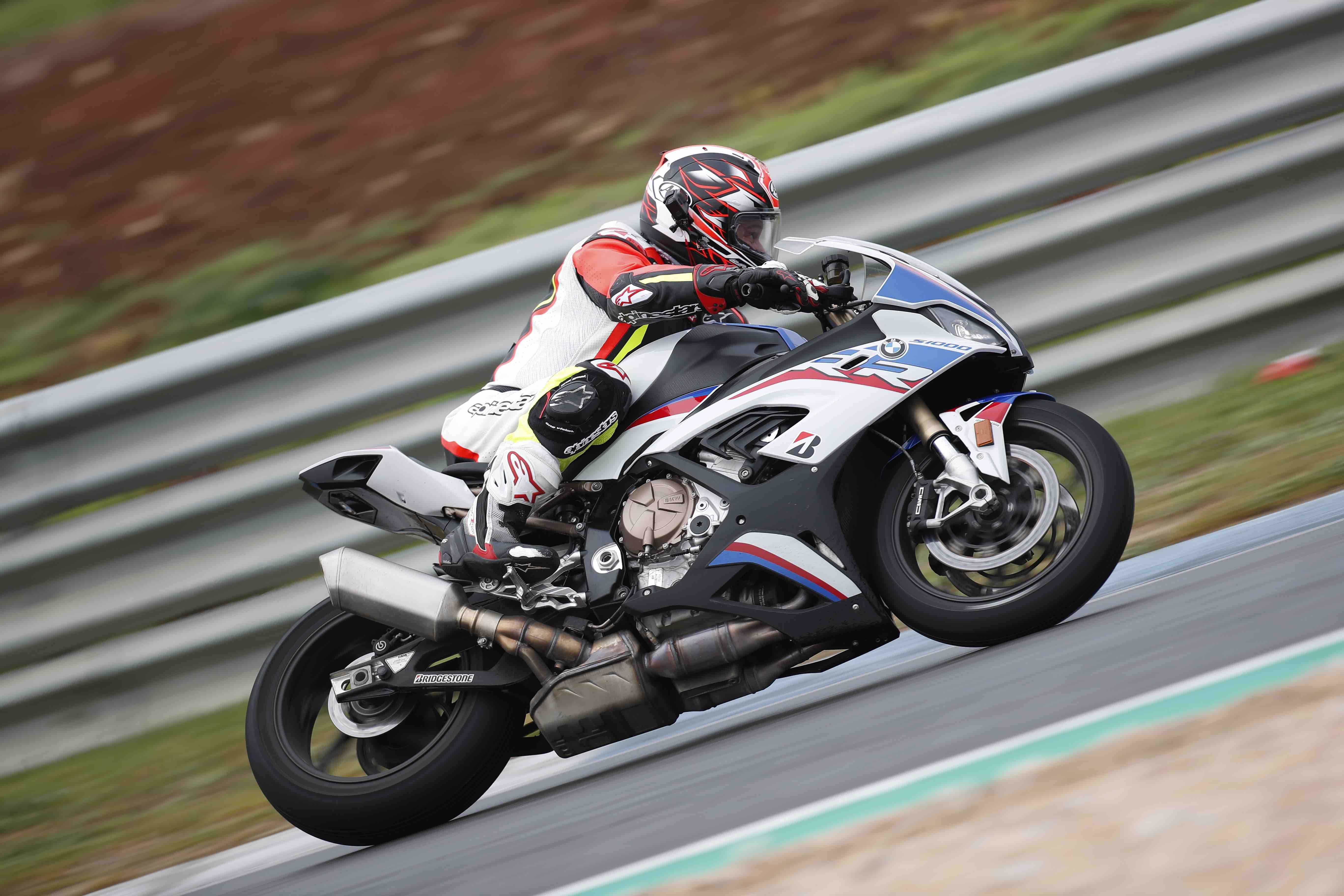BMW S1000RR Alan Dowds at Estoril
