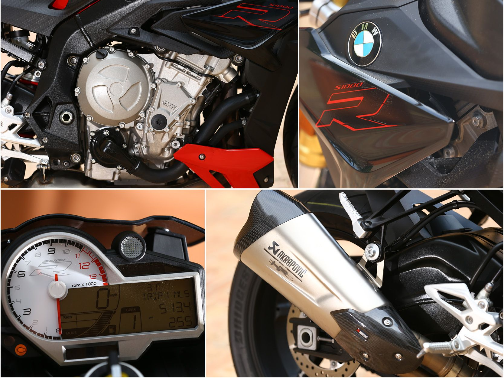 Close Up BMW S1000R 2017