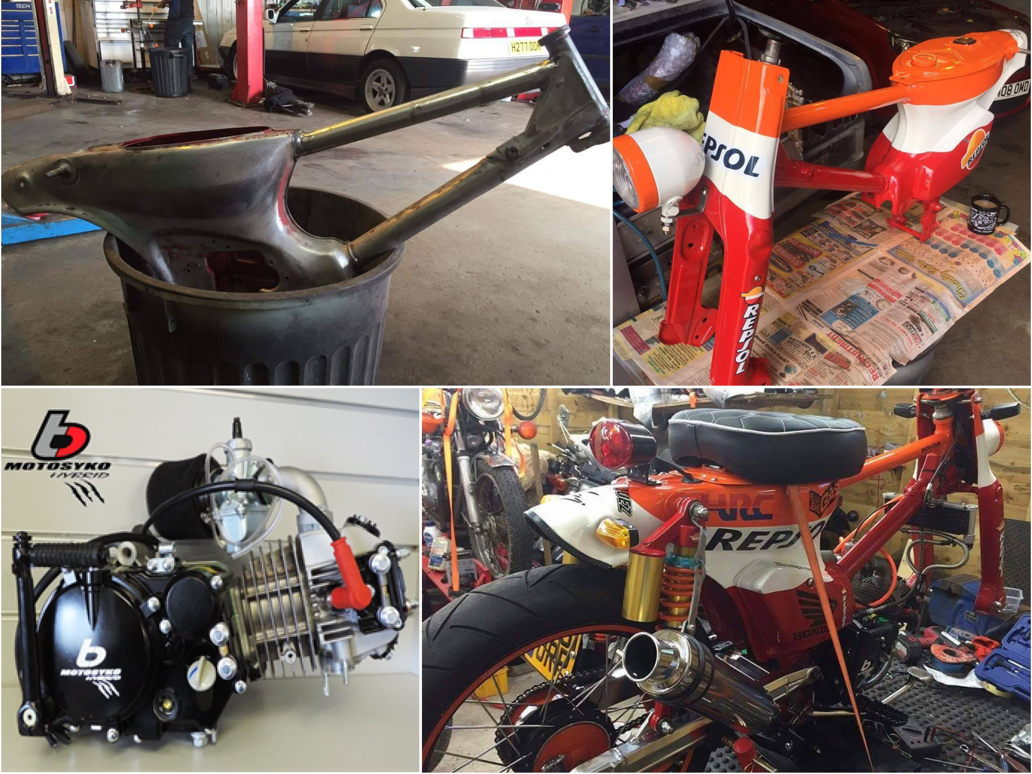 Repsol-Honda-Cub-Build