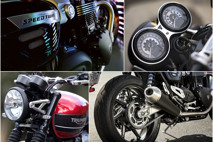 Triumph Speed Twin up close images