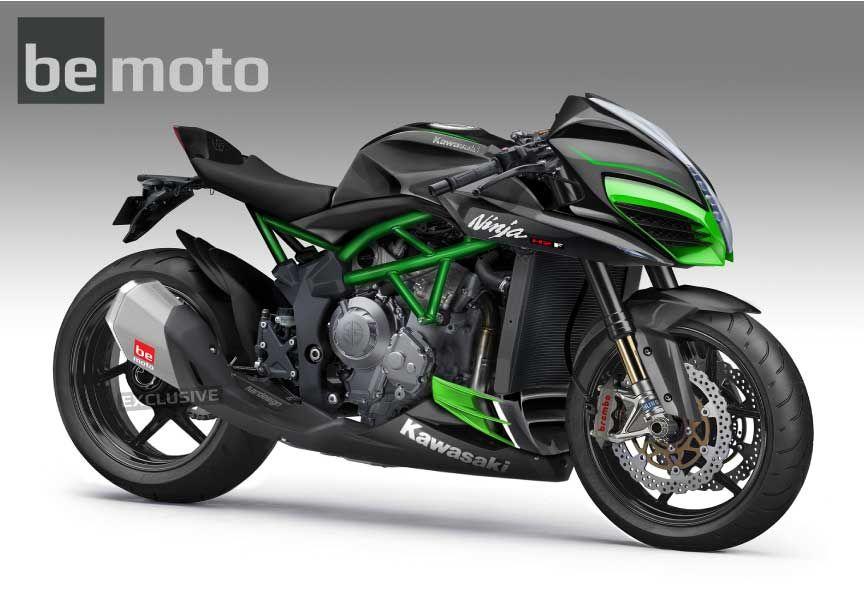 Kawasaki Ninja H2F Black Kardesign