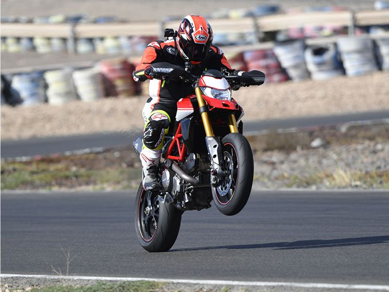 Ducati Hypermotard 950 SP Wheelie
