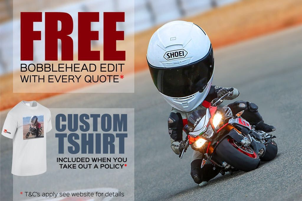 BeMoto Bobblehead Offer