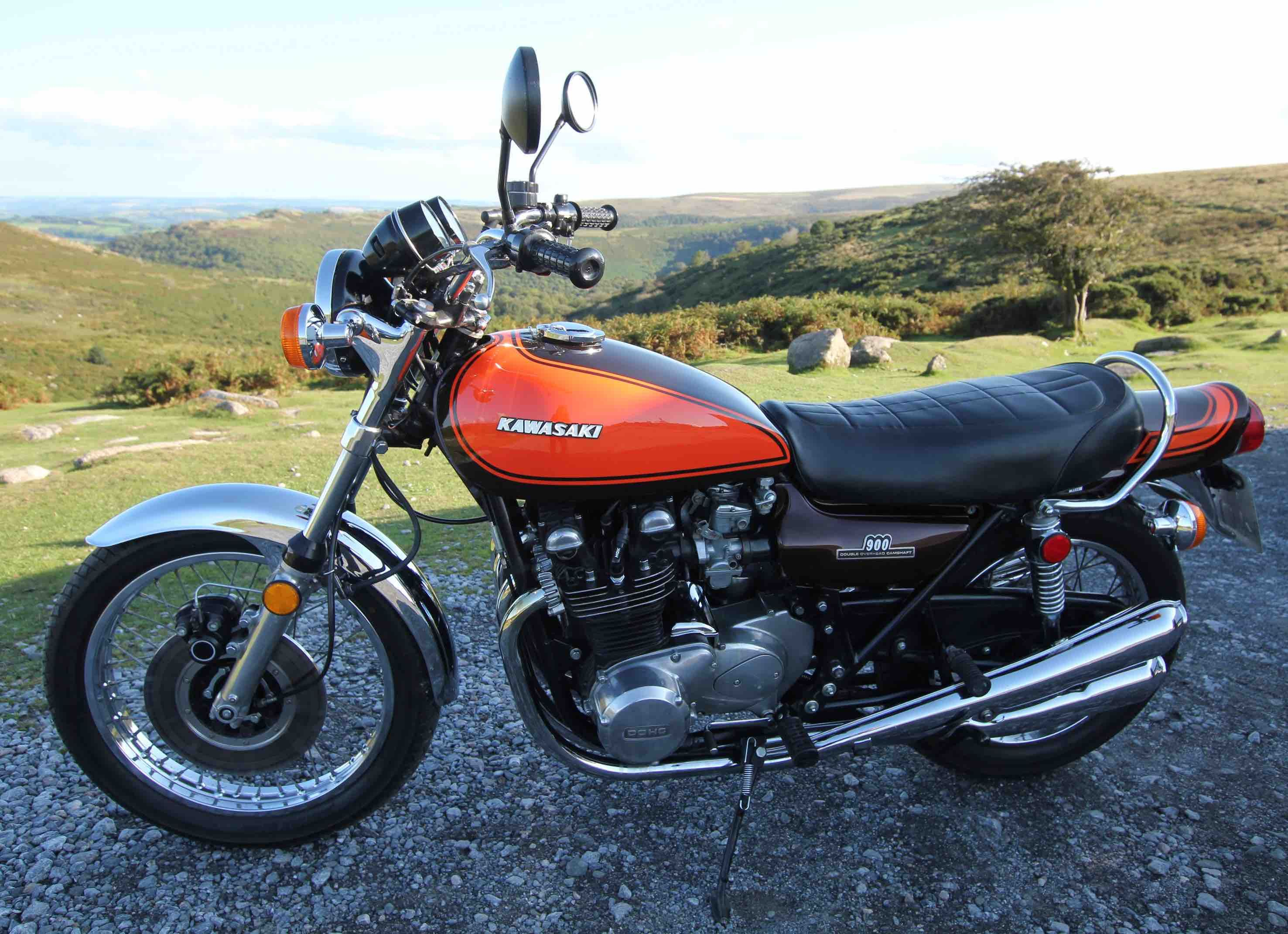Investing in Clic and Vintage Motorcycles - This Kawasaki Z1 ...