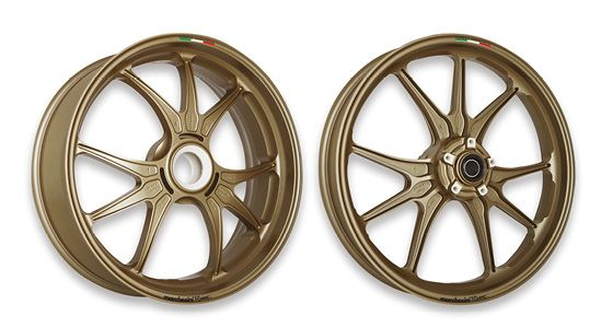 Magnesium Forged Motorcycle Wheels
