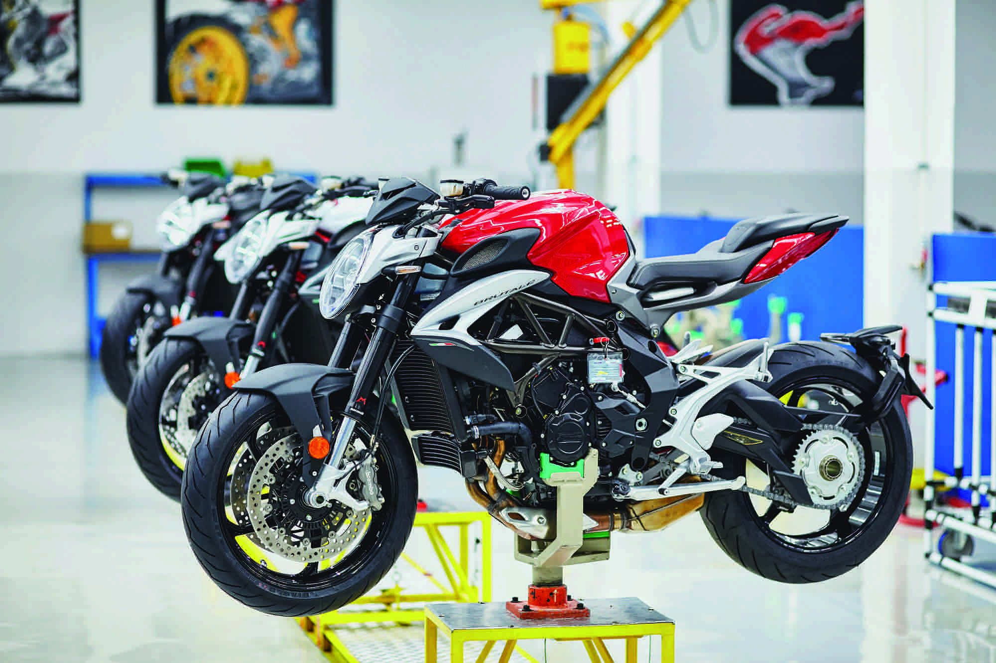 MV Agusta Brutale Workshop