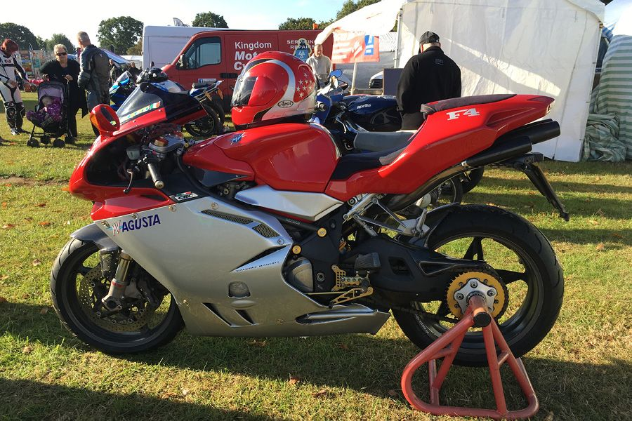 MV Agusta Insurance at Bike Show