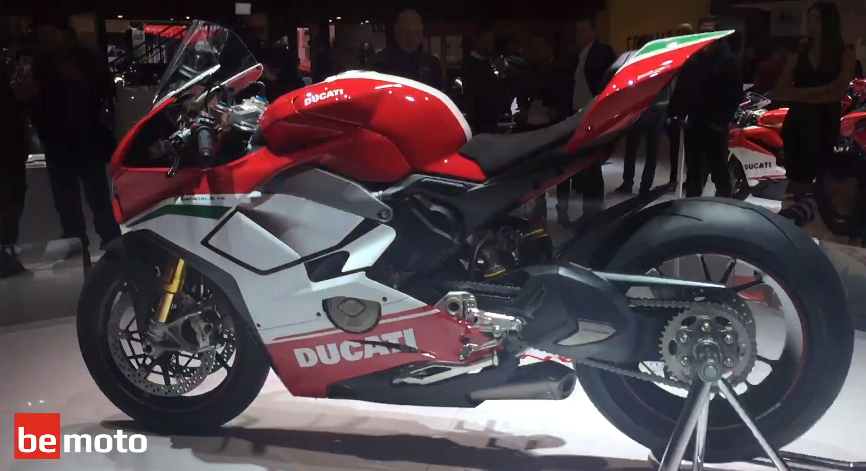Exclusive From Eicma All New 2018 Ducati Panigale V4 Speciale Bemoto