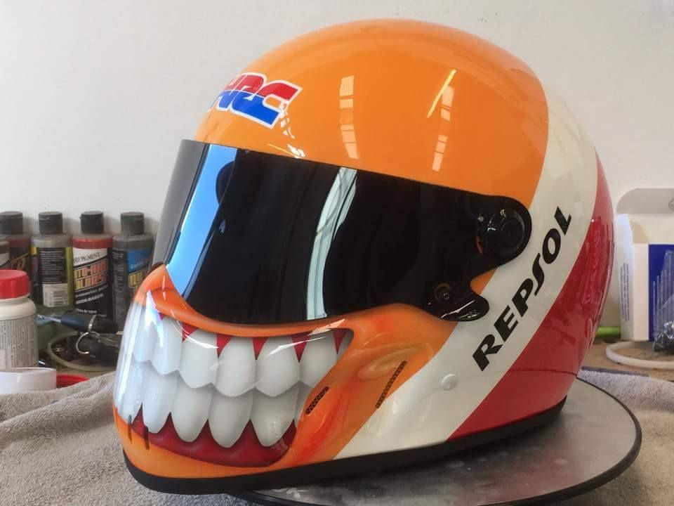 Paul Dalloway Graf-fx custom Helmet