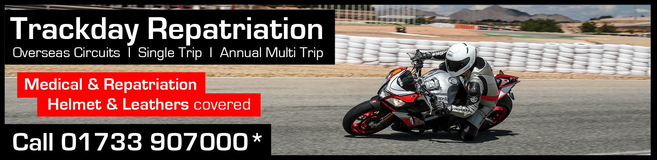 Trackday Travel Insurance