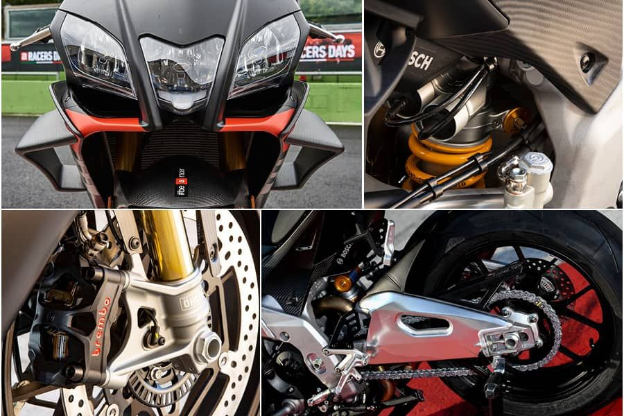 Aprilia 2020 RSV4 Factory closeup