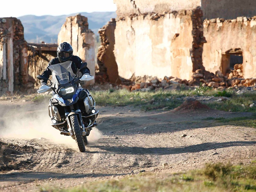 BMW R1250 GS Adventure off road riding