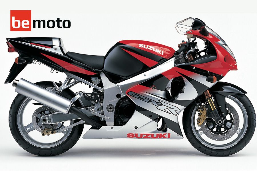 Suzuki GSX-R1000 K1 in red