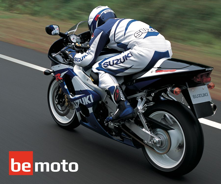 Suzuki GSX-R1000 ridden on road in 2001