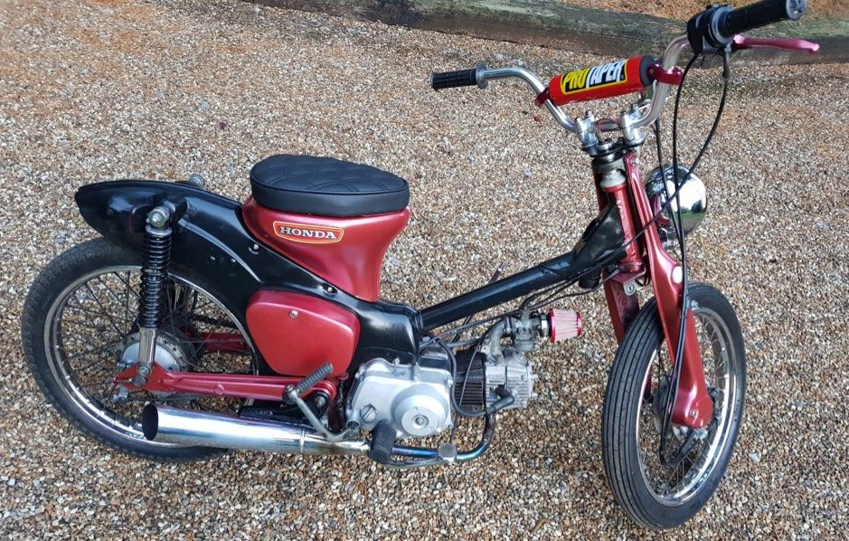 Shed Build Honda Cub 90