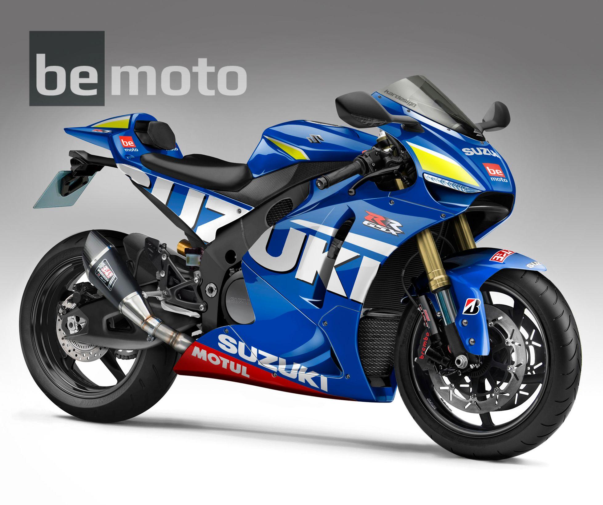 Suzuki Gsxr1000 Motogp Concept