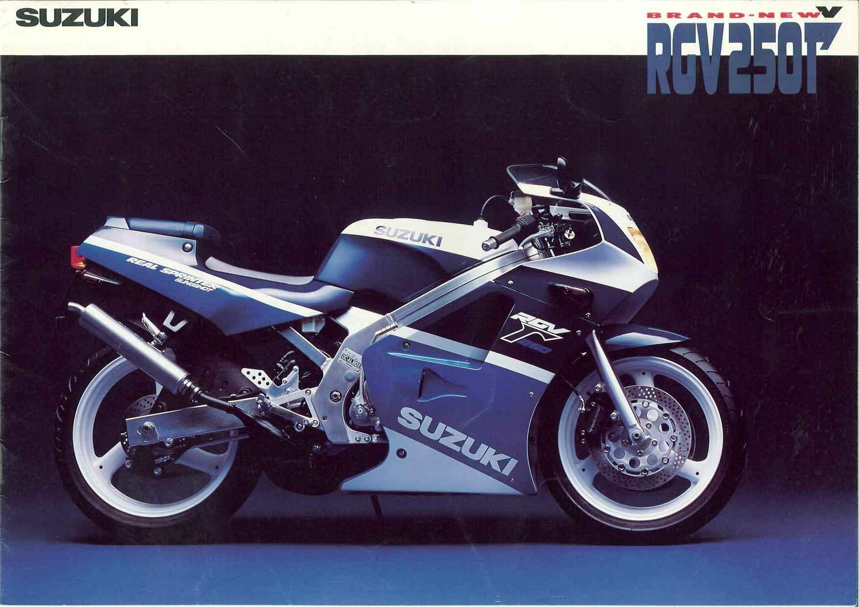 Suzuki RGV250 Official Brochure