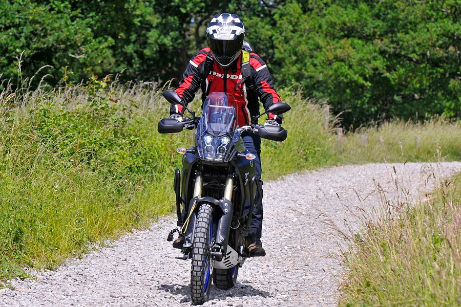 Yamaha Tenere 700 2020 riding off-road
